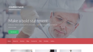 Activation Medical Research and Development WordPress Theme