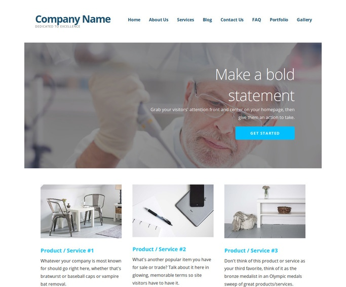 Ascension Medical Research and Development WordPress Theme