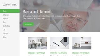 Escapade Medical Research and Development WordPress Theme