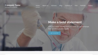 Lyrical Medical Research and Development WordPress Theme