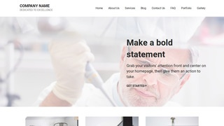 Mins Medical Research and Development WordPress Theme