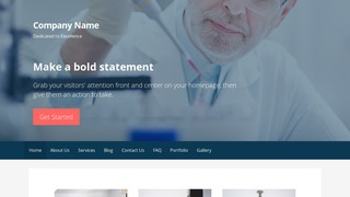 Primer Medical Research and Development WordPress Theme