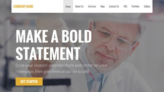 Stout Medical Research and Development WordPress Theme