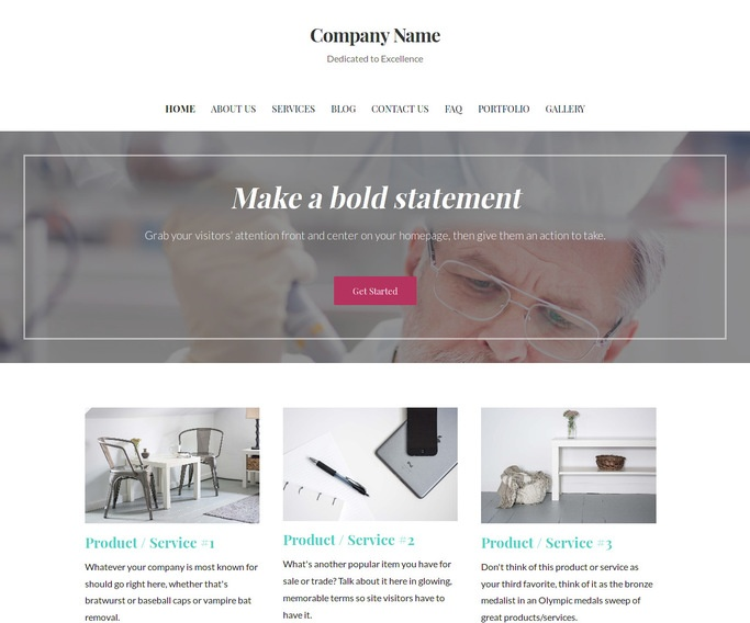 Uptown Style Medical Research and Development WordPress Theme