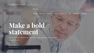 Velux Medical Research and Development WordPress Theme