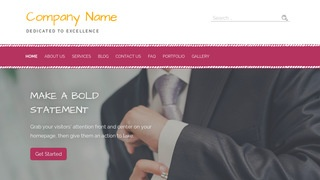 Scribbles Men's Clothing WordPress Theme