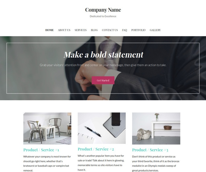 Uptown Style Men's Clothing WordPress Theme