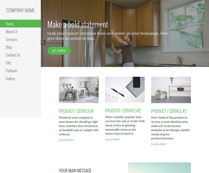Escapade Commercial Casework WordPress Theme
