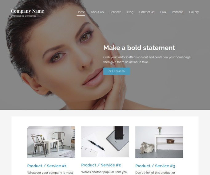 Lyrical Modeling School WordPress Theme