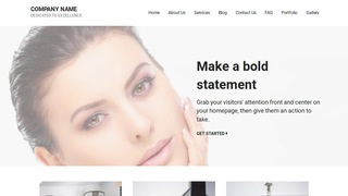 Mins Modeling School WordPress Theme