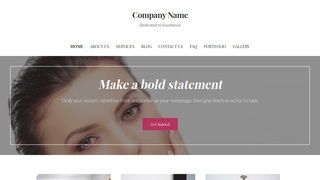 Uptown Style Modeling School WordPress Theme