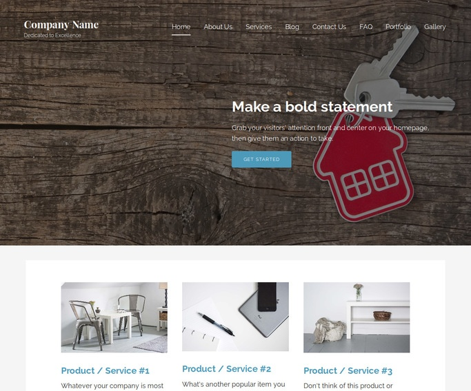 Lyrical Mortgage Broker WordPress Theme