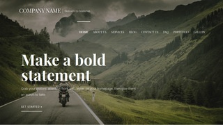 Velux Motorcycle Dealer WordPress Theme