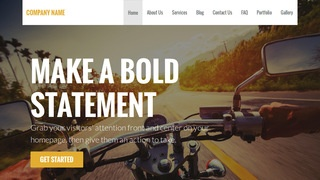 Stout Motorcycle Parts and Accessories WordPress Theme