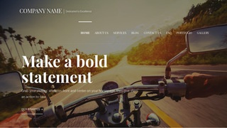 Velux Motorcycle Parts and Accessories WordPress Theme