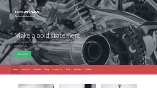 Activation Motorcycle Repair WordPress Theme