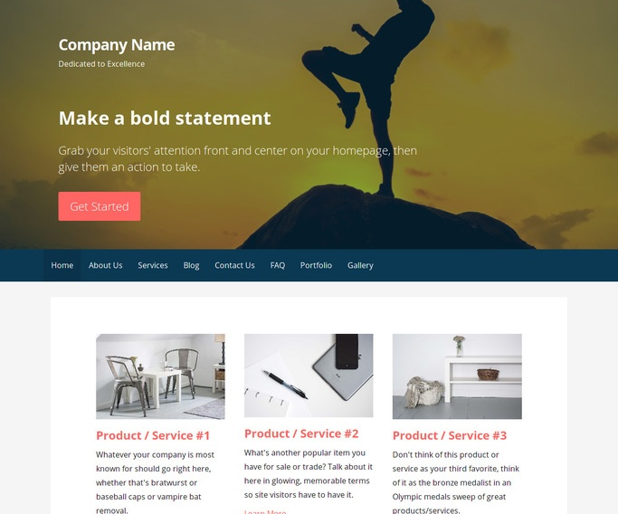 Primer Muay Thai Boxing Gym WordPress Theme