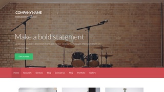 Activation Musical Instrument Rental WordPress Theme