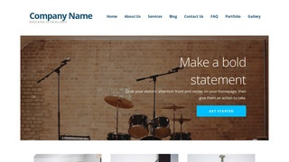 Ascension Musical Instrument Rental WordPress Theme