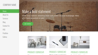 Escapade Musical Instrument Rental WordPress Theme