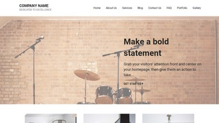 Mins Musical Instrument Rental WordPress Theme