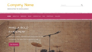 Scribbles Musical Instrument Rental WordPress Theme