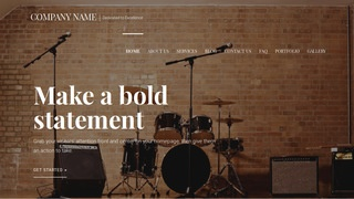 Velux Musical Instrument Rental WordPress Theme