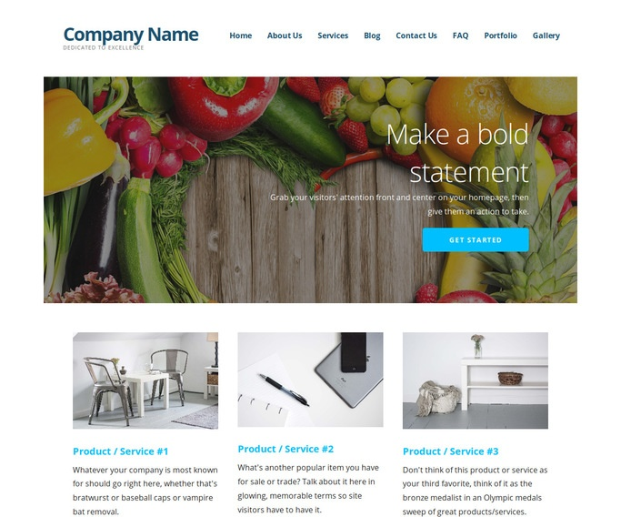 Ascension Nutritionist WordPress Theme