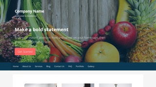 Primer Nutritionist WordPress Theme
