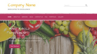 Scribbles Nutritionist WordPress Theme