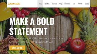 Stout Nutritionist WordPress Theme