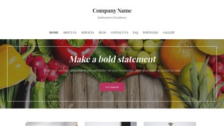 Uptown Style Nutritionist WordPress Theme