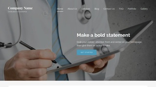 Lyrical Occupational Medicine Physician WordPress Theme