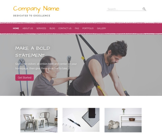 Scribbles Occupational Therapy WordPress Theme