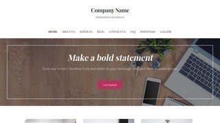 Uptown Style Office Furniture WordPress Theme
