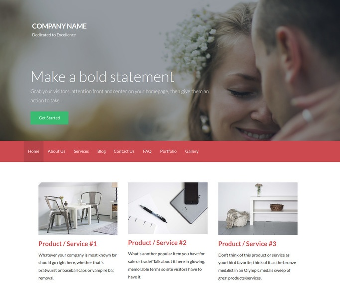 Activation Officiant WordPress Theme