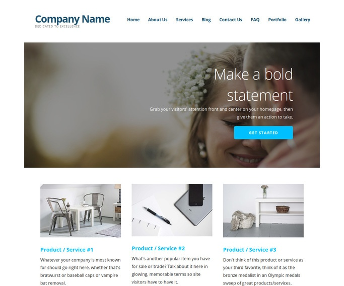 Ascension Officiant WordPress Theme