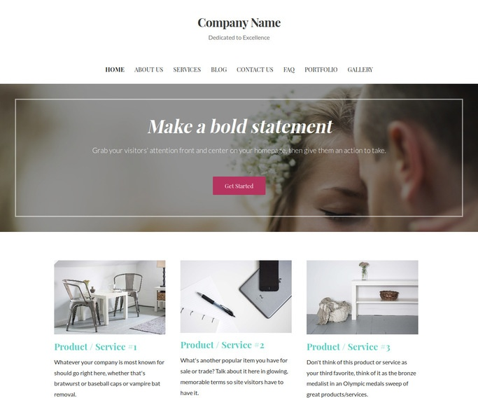 Uptown Style Officiant WordPress Theme