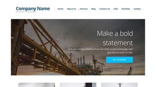 Ascension Oil and Gas WordPress Theme