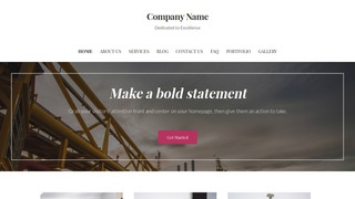 Uptown Style Oil and Gas WordPress Theme