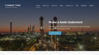 Lyrical Oil and Gas Field Equipment WordPress Theme