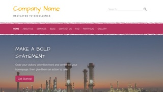 Scribbles Oil and Gas Field Equipment WordPress Theme