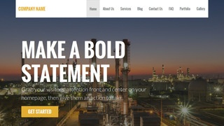 Stout Oil and Gas Field Equipment WordPress Theme