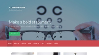 Activation Eyewear WordPress Theme