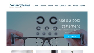 Ascension Eyewear WordPress Theme