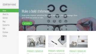 Escapade Eyewear WordPress Theme