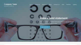Lyrical Eyewear WordPress Theme