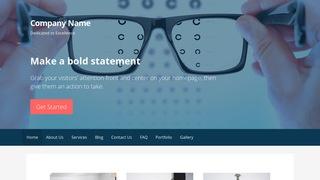 Primer Eyewear WordPress Theme