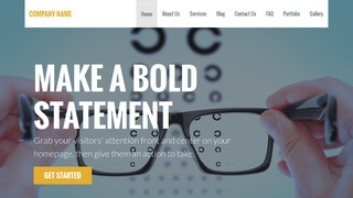 Stout Eyewear WordPress Theme