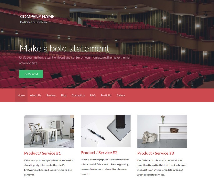 Activation Orchestra and Symphony WordPress Theme
